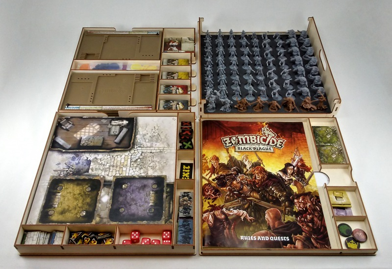 Zombicide Black Plague Core Box Organizer